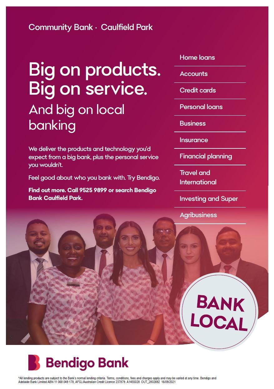 Bendigo Bank Flyer